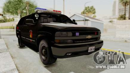 Chevrolet Suburban Indonesian Police RESMOB Unit pour GTA San Andreas