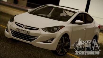 Hyundai ELANTRA 2015 STOCK pour GTA San Andreas