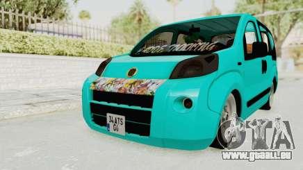 Fiat Fiorino Hellaflush v1 pour GTA San Andreas