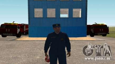 Le Colonel de l'EMERCOM de Russie pour GTA San Andreas