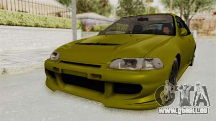 Honda Civic Fast and Furious pour GTA San Andreas