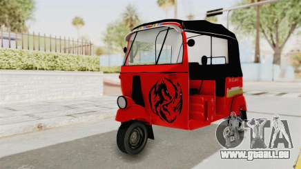 Sri Lanka Three Wheeler Taxi für GTA San Andreas
