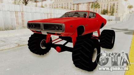 Dodge Charger 1971 Monster Truck für GTA San Andreas