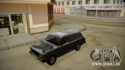 VAZ 2104, mit einem großen Kofferraum für GTA San Andreas