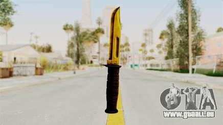 Knife Gold für GTA San Andreas