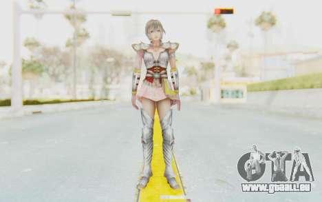 Dynasty Warriors 8: Xtreme Legends - Lu Lingqi 2 pour GTA San Andreas deuxième écran