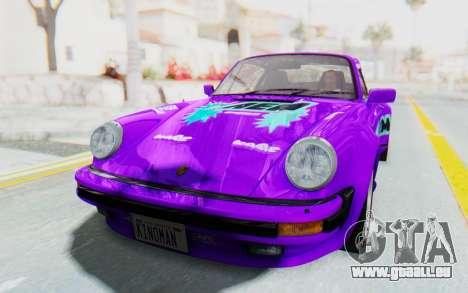 Porsche 911 Turbo 3.2 Coupe (930) 1985 für GTA San Andreas Innen
