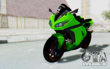 Kawasaki Ninja 250 Abs Streetrace pour GTA San Andreas vue de droite
