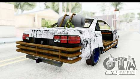 Chevrolet Caprice 2012 End Of The World pour GTA San Andreas laissé vue
