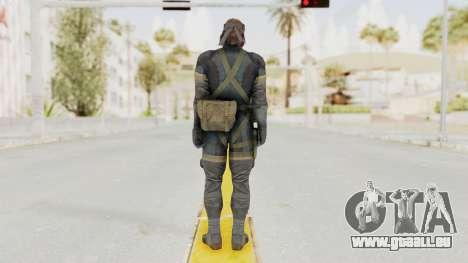 MGSV Phantom Pain Big Boss SV Sneaking Suit v1 pour GTA San Andreas troisième écran