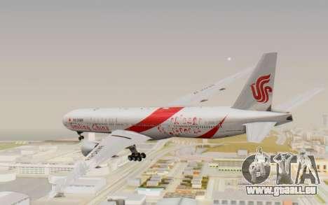 Boeing 777-300ER China Air für GTA San Andreas rechten Ansicht