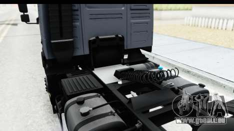 Volvo FMX Euro 5 v2.0.1 für GTA San Andreas Seitenansicht