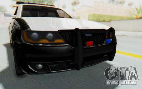 ASYM Desanne XT Pursuit v3 pour GTA San Andreas vue de côté