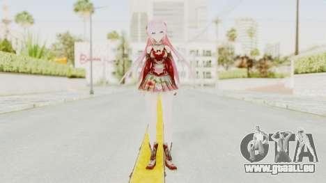 Sengoku Otome Luka pour GTA San Andreas deuxième écran