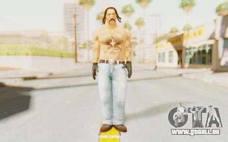 Def Jam Fight For New York - Danny Trejo für GTA San Andreas zweiten Screenshot