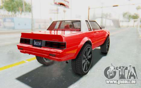 GTA 5 Willard Faction Custom Donk v2 IVF pour GTA San Andreas laissé vue