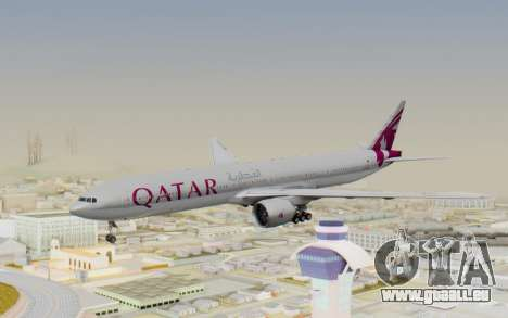 Boeing 777-300ER Qatar Airways v1 pour GTA San Andreas
