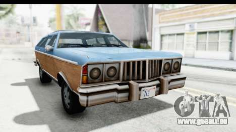 Pontiac Bonneville Safari from Bully für GTA San Andreas