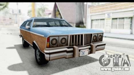 Pontiac Bonneville Safari from Bully für GTA San Andreas
