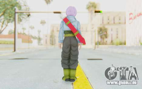 Trunks Del Futuro v1 für GTA San Andreas dritten Screenshot