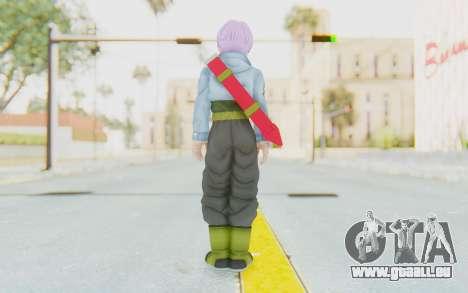 Trunks Del Futuro v1 für GTA San Andreas dritten Screenshot