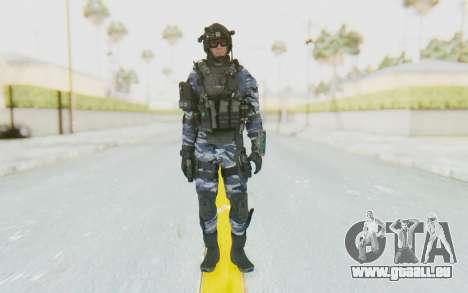 Federation Elite Assault Urban-Navy pour GTA San Andreas deuxième écran
