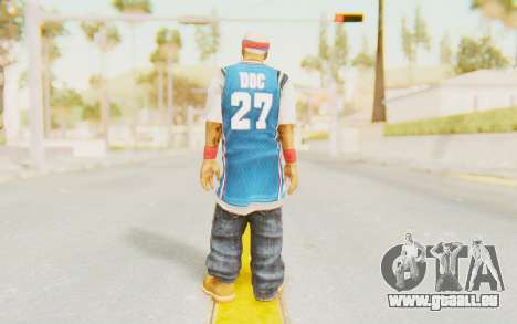 Def Jam Fight For New York - Redman für GTA San Andreas dritten Screenshot