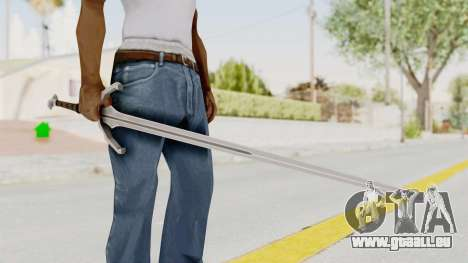 The Witcher 3: Wild Hunt - Sword v1 pour GTA San Andreas
