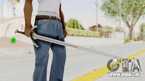 The Witcher 3: Wild Hunt - Sword v1 für GTA San Andreas