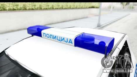 Fiat Punto Mk2 Policija pour GTA San Andreas vue intérieure