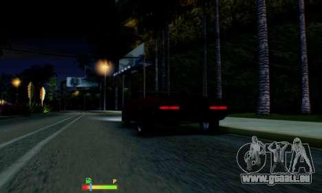 Chevrolet 369 Camaro SS für GTA San Andreas Unteransicht