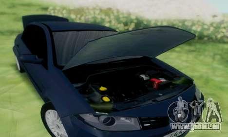 Renault Megane 2004 pour GTA San Andreas sur la vue arrière gauche