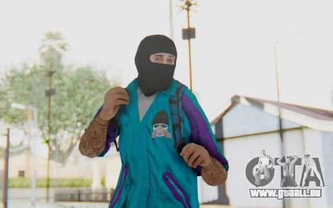 Robbery Skin pour GTA San Andreas