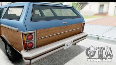 Pontiac Bonneville Safari from Bully pour GTA San Andreas vue arrière