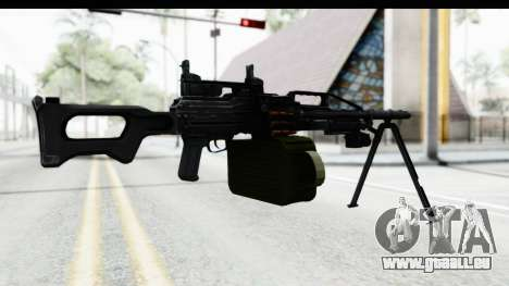 Kalashnikov PK (PKM) Iron Sights für GTA San Andreas dritten Screenshot