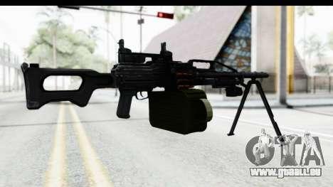 Kalashnikov PK (PKM) Iron Sights pour GTA San Andreas troisième écran