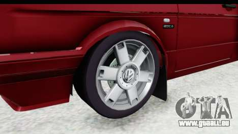 Volkswagen Golf VeloCiti 2008 Updated pour GTA San Andreas vue arrière