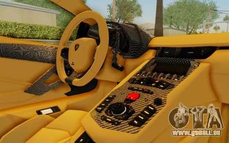 Lamborghini Aventador LP700-4 LB Walk Fenders für GTA San Andreas Räder
