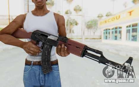 Assault AK-47 pour GTA San Andreas troisième écran