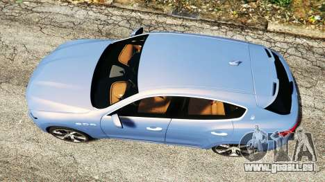 GTA 5 Maserati Levante 2017 [add-on] Rückansicht