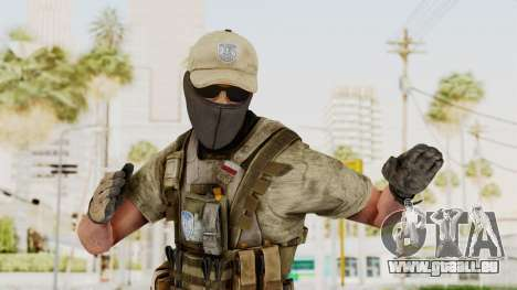 MOH Warfighter Grom Specops pour GTA San Andreas