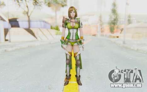 Dynasty Warriors 8 - Bao Sanniang für GTA San Andreas zweiten Screenshot