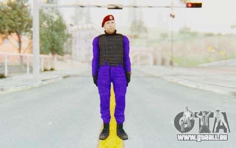 Bahrain Officer für GTA San Andreas zweiten Screenshot