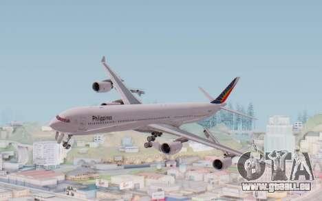 Airbus A340-600 Philippine Airlines für GTA San Andreas