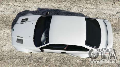 GTA 5 BMW M3 (E36) Street Custom vue arrière
