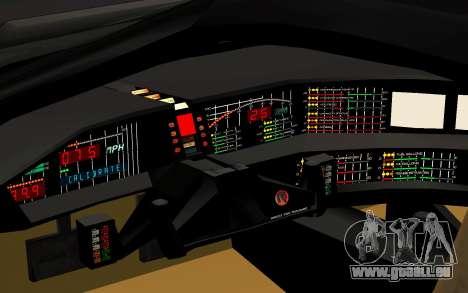 K.I.T.T. 2000 Pilot für GTA San Andreas Rückansicht