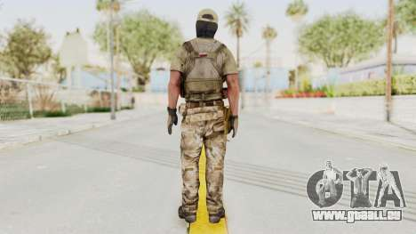 MOH Warfighter Grom Specops für GTA San Andreas dritten Screenshot