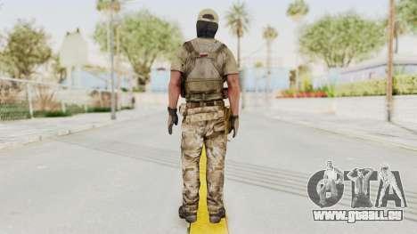 MOH Warfighter Grom Specops für GTA San Andreas dritten Screenshot