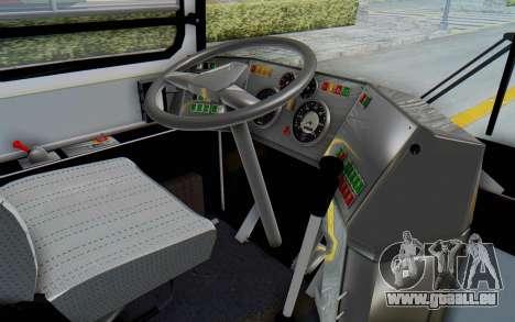 Ikarus 260 Istanbul pour GTA San Andreas vue intérieure