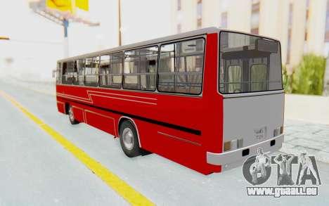 Ikarus 260 Istanbul pour GTA San Andreas laissé vue
